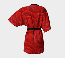 Load image into Gallery viewer, Rose Bud Kimono Robe | JSFA - JSFA - Original Art On Fashion by Jenny Simon