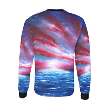 Load image into Gallery viewer, Stars And Stripes Long Sleeve Men's T-shirt | JSFA - JSFA - Original Art On Fashion by Jenny Simon