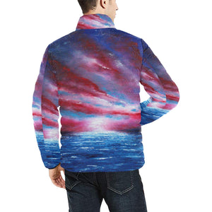 Stars And Stripes Men's Bomber Jacket | JSFA - JSFA - Original Art On Fashion by Jenny Simon