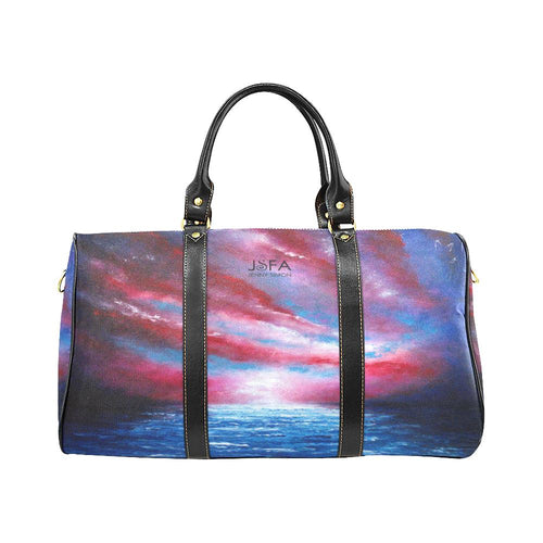 Stars And Stripes - Red, White, Blue Travel Bag | JSFA - JSFA - Original Art On Fashion by Jenny Simon