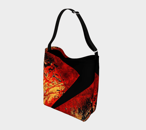 Vibration Stripe Shopper | JSFA - JSFA - Original Art On Fashion by Jenny Simon