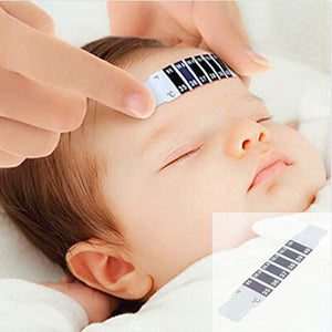 5Pcs Baby Forehead Reusable Thermometer Scan Strip For Infants.