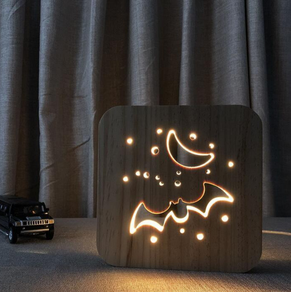 Animal Lamp - Bat - bro-coat
