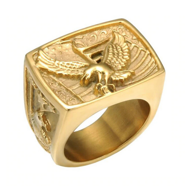 Golden Eagle Ring - bro-coat