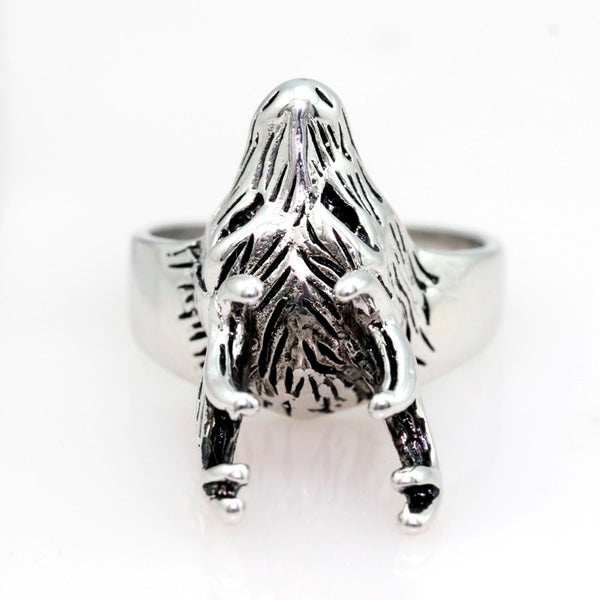 Silver Hunter Deer Ring - bro-coat
