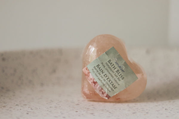Heart Shaped Himalayan Salt Bar