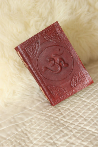Om Leather Journal