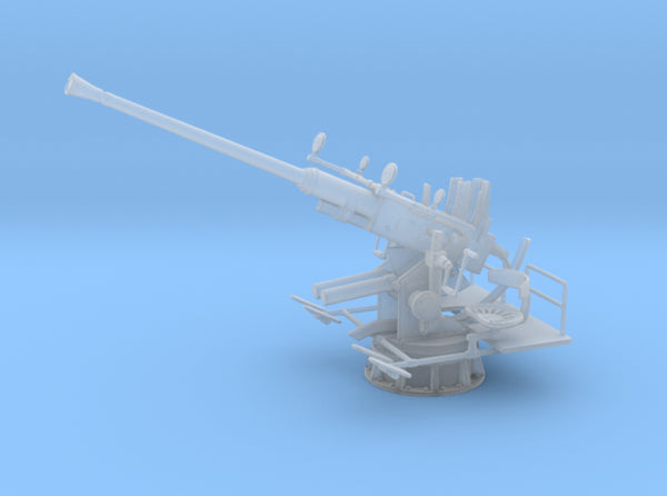 1/72 USN Single 40mm Bofors [Elevated] 3d printed