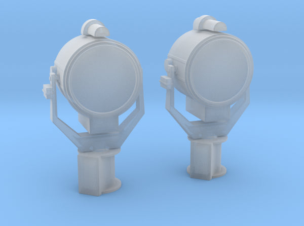 1/72 USN 24 inch SearchLight Set 2 Units 3d printed