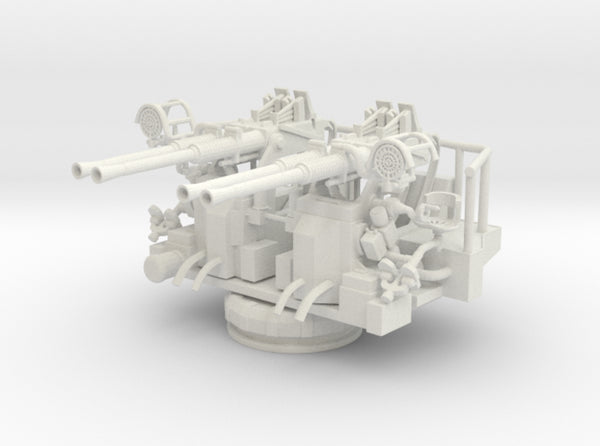 Best Cost 1/35 40mm Bofors Quad Mount 3d printed