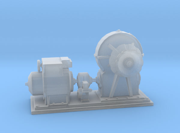 1/72 IJN Electric Deck Winch 3d printed