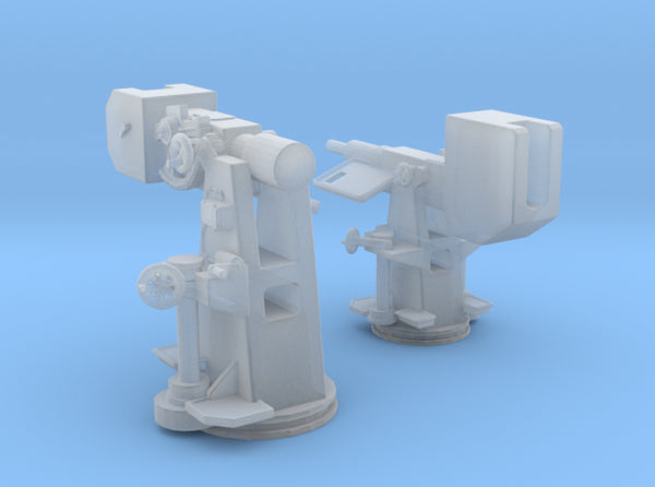 1/100 DKM Training Guns 3d printed
