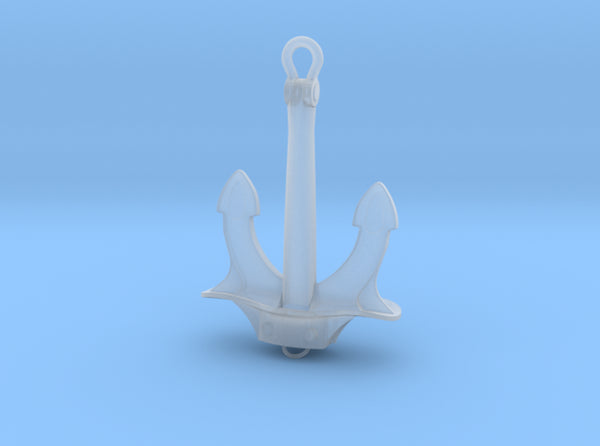 1/96 DKM Bismarck Fore Anchor 3d printed