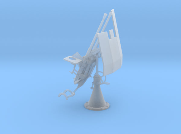 1/32 DKM 20mm C30 Double Flak Elevated Shield 3d printed