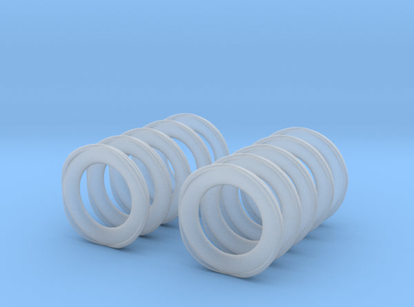 1/100 Life Ring Set x10 3d printed