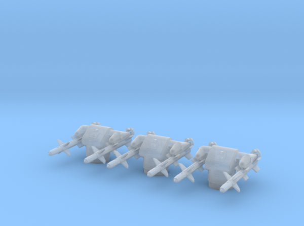 1/500 USN MK12 GMLS Set 3 Units 3d printed