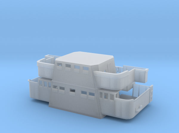 1/192 DKM Graf Spee Tower Mid Part 3d printed