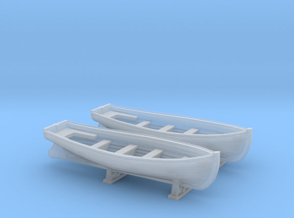 1/350 DKM Boat 6m Long Set 3d printed