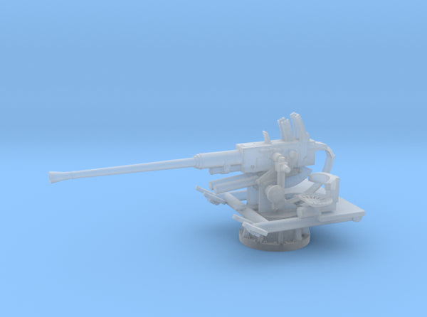 1/160 USN 40mm Single Bofors 3d printed