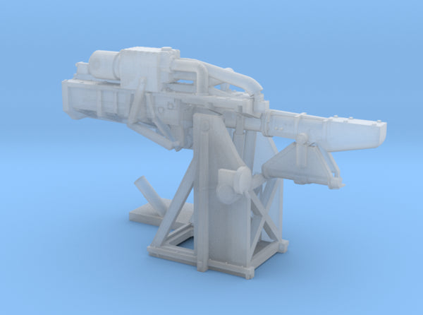 1/192 USN 5 inch Loading Machine Starboard 3d printed