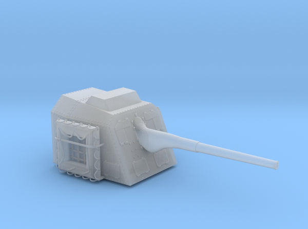 1/50 DKM 15cm 55 (5.9in) TBts KC/36 Gun 3d printed