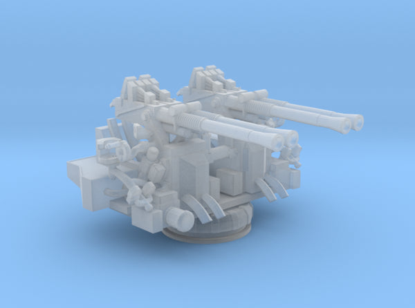 1/300 USN 40mm Quad Bofors 3d printed