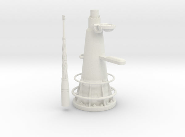 1/11 DKM UBoot VIIC Attack Periscope_w_compass 3d printed
