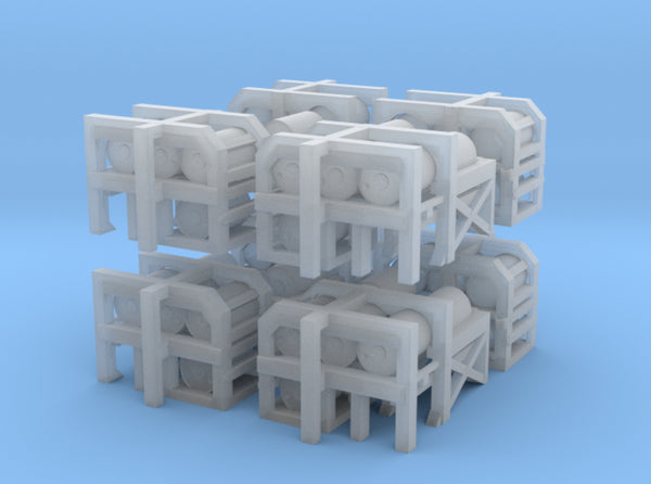 1/300 USN Depth Charge Loader Rack SET 3d printed