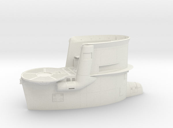 1/16 DKM Uboot VIIB Conning Tower 3d printed