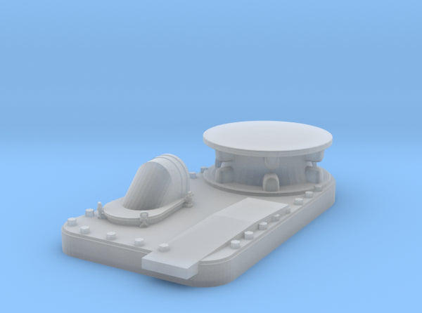 1/48 USS BB59 Anchor Chain Capstan 3d printed