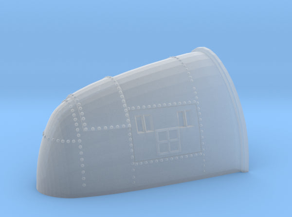 1/48 DKM Uboot VII C41 Conning Tower Radar Housing 3d printed