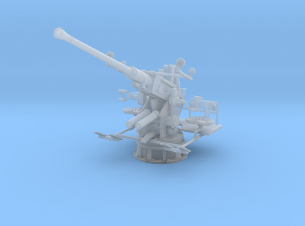 1/500 USN 40mm Single Bofors Elevated Set x5 3d printed