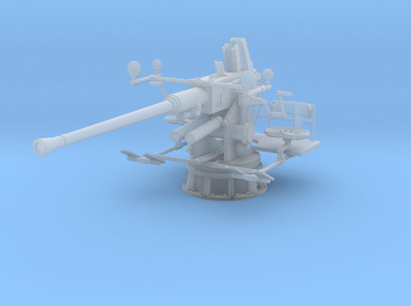 1/500 USN 40mm Single Bofors Set x5 3d printed