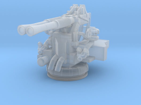 1/240 USN 40mm Bofors Twin Mount 3d printed