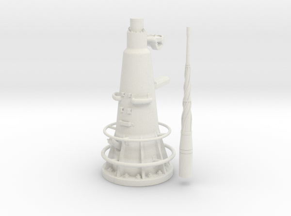 1/16 DKM UBoot VIIC Attack Periscope w. compass 3d printed