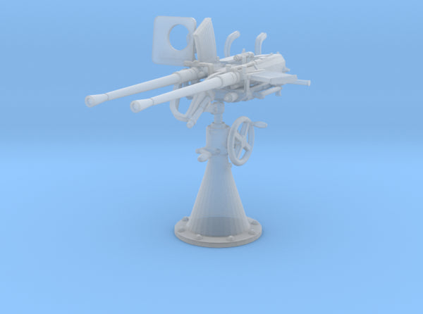 1/40 DKM Double 20mm C/30 Flak w/o. Shield 3d printed