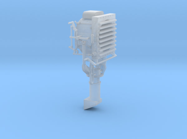 1/35 DKM Destroyer Signal Lamp 3d printed