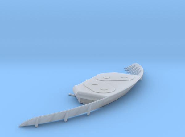 1/96 USN South Dakota Breakwater 3d printed