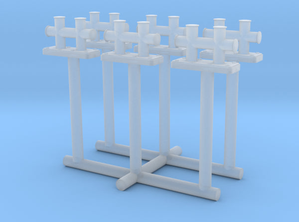 1/100 DKM Schnellboot Midship Bollard Set 3d printed