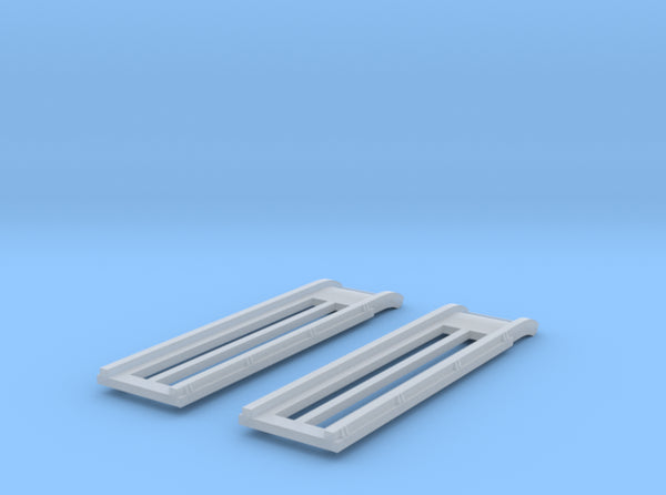 1/100 DKM Schnellboot S100 Rails Set 3d printed