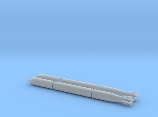 1/48 DKM G7 torpedo (21 in) KIT x2 3d printed