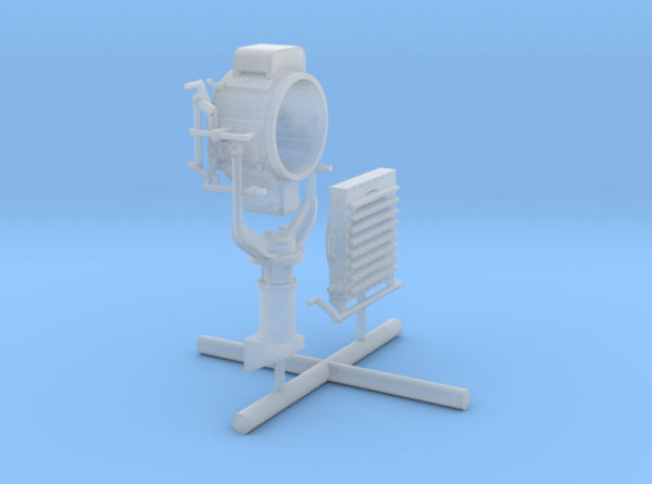 1/35 DKM Destroyer Signal Lamp KIT 3d printed