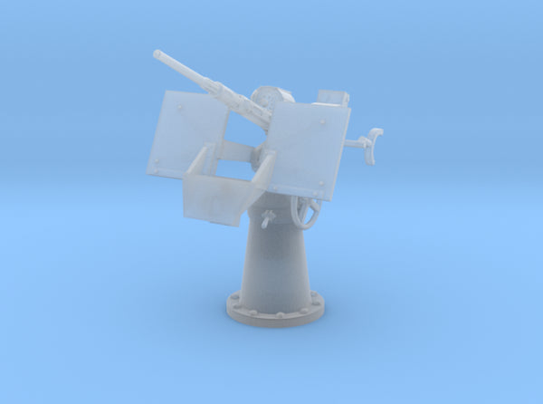 1/48 20mm Oerlikon Mk4 w/ MK14 Gun Sight Elevated 3d printed