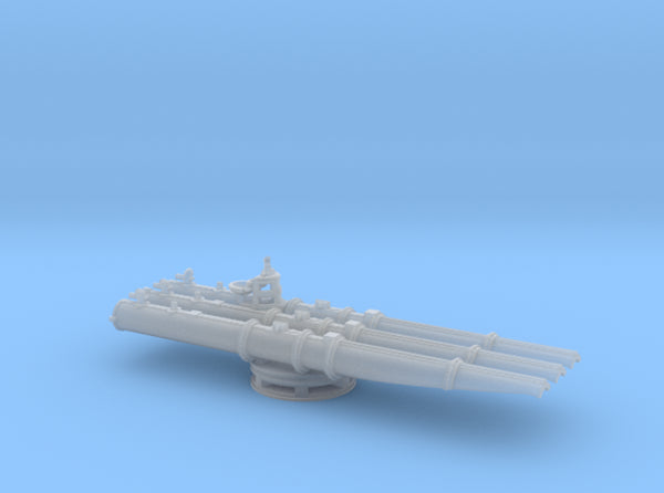1/240 USN 21 inch Trainable Torpedo Tubes 3d printed