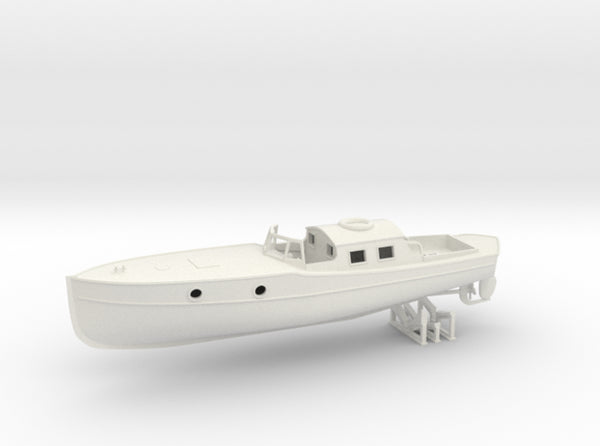 1/56 DKM Boat 9m Captain's Gig 3d printed