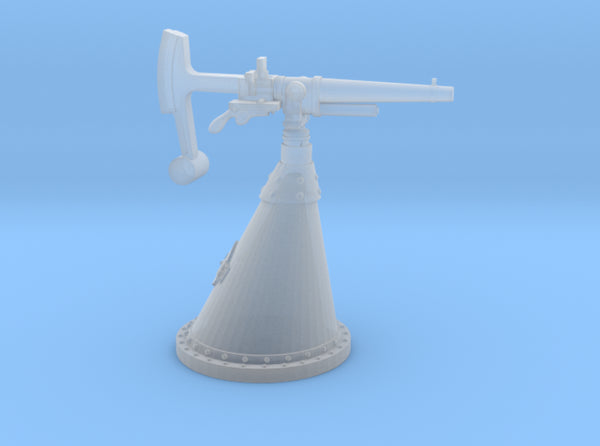 "1/100 Russian 37 mm (1.5"") Gun 3d printed"