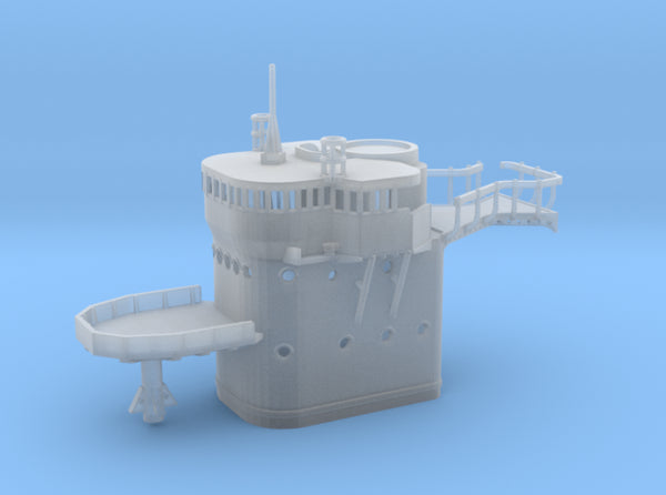 1/306 IJN Kagero Command Bridge 3d printed