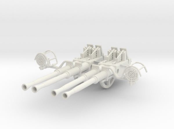 1/6 USN 40mm Quad Bofors Barrels Set 3d printed