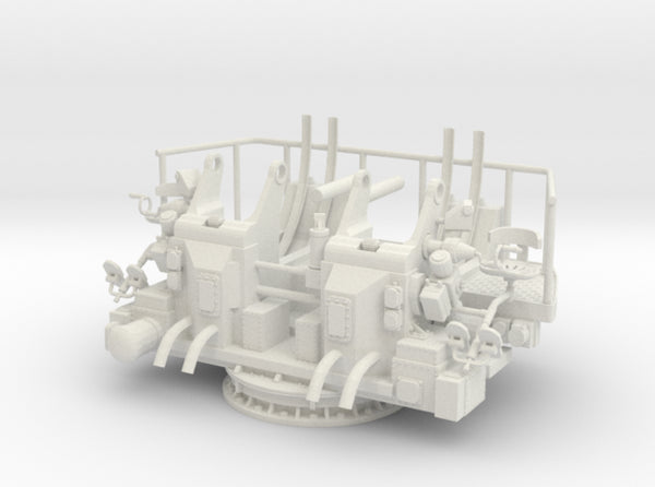 1/6 USN 40mm Quad Bofors Mount 3d printed