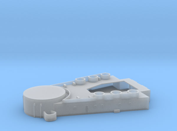 1350 HMS Warspite Superstructure Deck1 Fore 3d printed